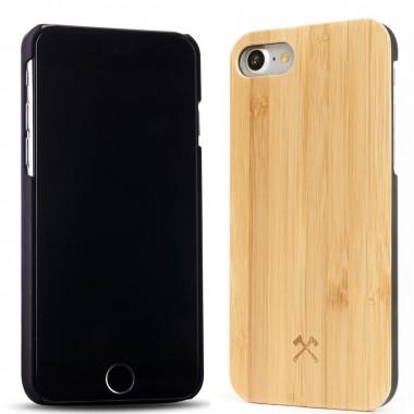 Woodcessories - EcoCase Classic - Premium Design Case, Cover, Hülle für das iPhone aus FSC zert. Holz (iPhone 7/ 8, Walnuss, Bambus, Kirsch / schwarz)