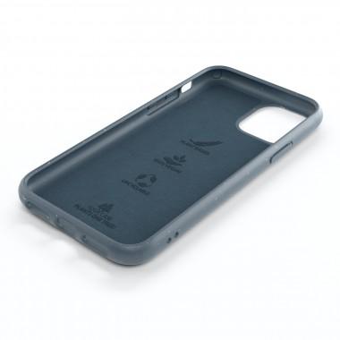 Woodcessoires – Nachhaltige iPhone Hülle aus Bio-Material für iPhone 12 / Mini / Pro / Pro Max (navy blau)
