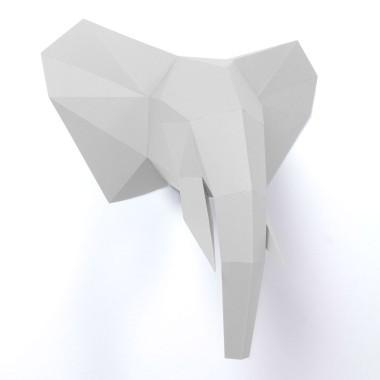 PaperShape 3D Elefant zum Zusammenstecken