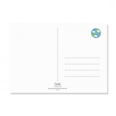 "Edith schmuckes Papier ""Erdling - Postkarte Set"""