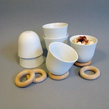 YOU Set Espresso biskuit, 6 Stück