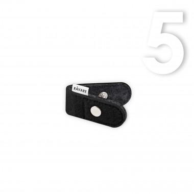 RÅVARE Funktionaler Kabelhalter für Köpfhörer oder Ladekabel, um dein Kabelgewirr zu ordnen