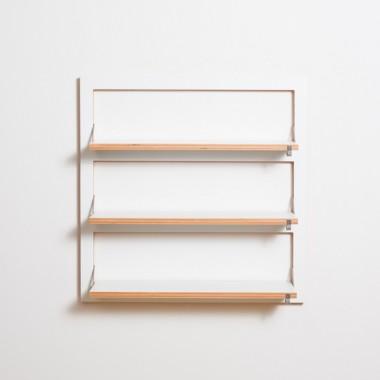 AMBIVALENZ Fläpps Regal (80x80x3 cm)Der dreifache Klappberger