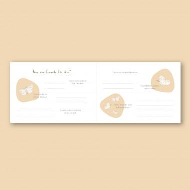 Freundebuch Kindergarten und Schule - Einhorn