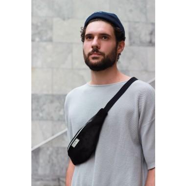 frisch Bauchtasche / Hip bag NACHT Leder