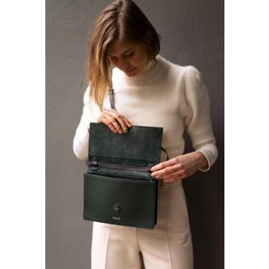 frisch Handtasche LONDON aus geprägtem Leder