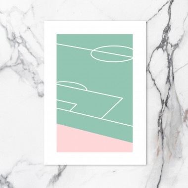Chiara Tempel – Fußball #1 – Poster A3 (297x420mm)