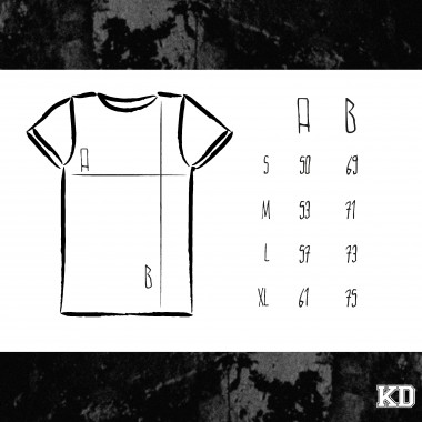 "KINDERGELD ORGANIC Mens Roll Sleeve T-Shirt ""FRANZ"""
