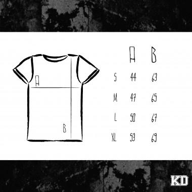 """KINDERGELD ORGANIC Womens Roll Sleeve T-Shirt  """"JOHANN"""" (RAUSGEHEN SPIELEN)"""
