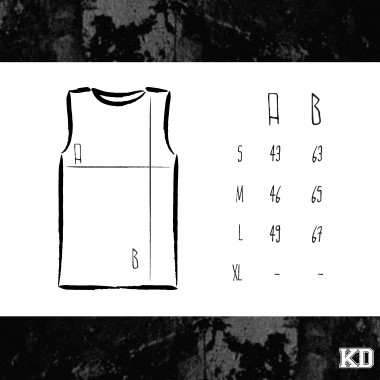 "KINDERGELD ORGANIC Womens Raw Tank ""JAN"""