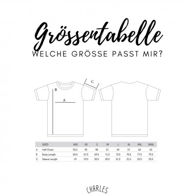 Charles / Shirt Dortmund / 100% Biobaumwolle / Fair Wear zertifiziert