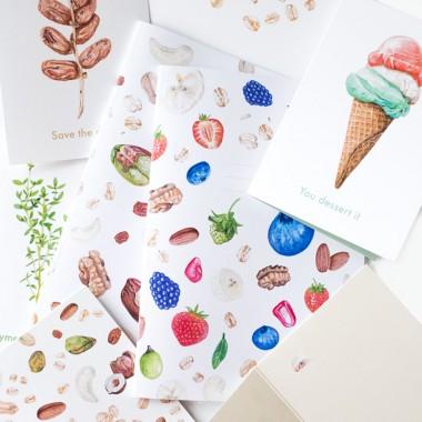 """Grußkarte """"You dessert it"""" mit Umschlag / Kamila Sidelnikov"""