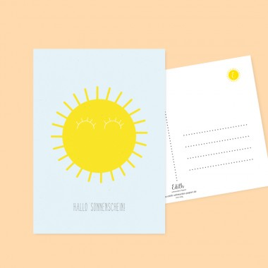 """Edith schmuckes Papier  """"Für die Kleinen - Postkarten Set"""""""
