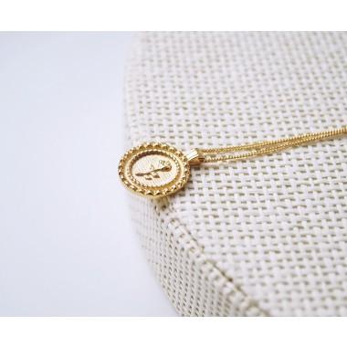 iloveblossom ROSE COIN Halskette