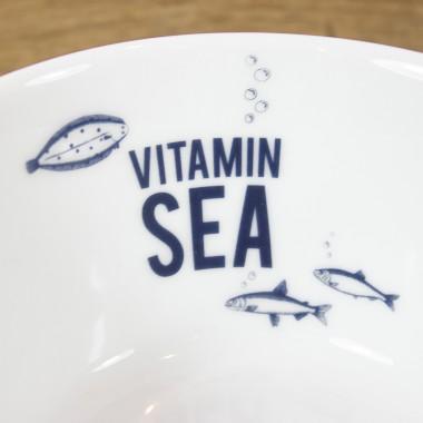 Bow & Hummingbird Porzellanschale Vitamin Sea