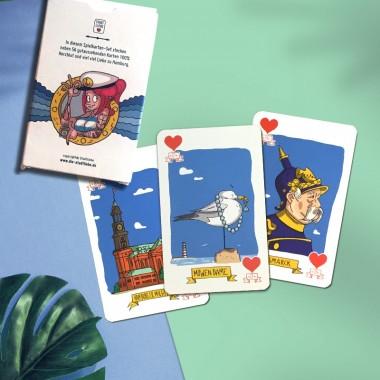 Stadtliebe® | Hamburg Spielkartenset