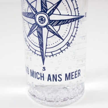 """Bow & Hummingbird Trinkflasche """"Bring mich ans Meer"""""""