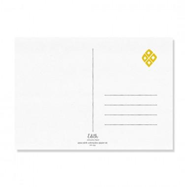 """Edith schmuckes Papier """"Kuschlige Weihnachten - Postkarten Set"""" 3 Postkarten"""