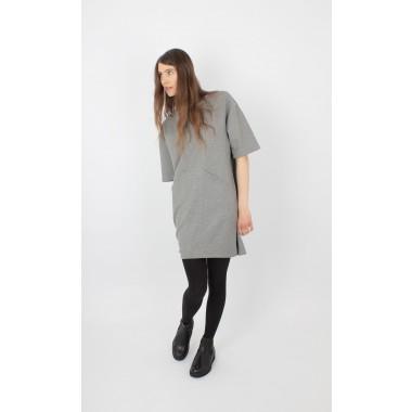 ZITAT Shirtkleid Hayuk Grey