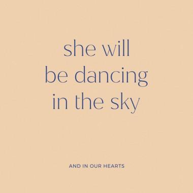 Dancing | 3er Set Klappkarten inkl. Umschlag | heartfelt paper & co