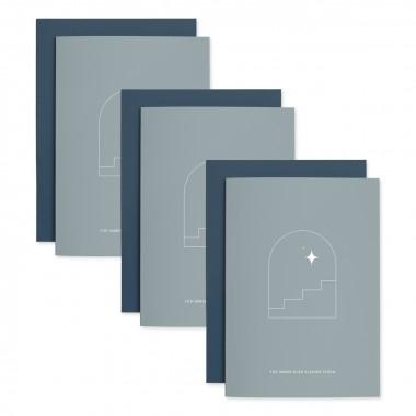 Fenster | 3er Set Klappkarten inkl. Umschlag | heartfelt paper & co