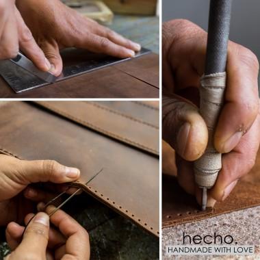 "hecho. Ledertasche ""Fernando"" für Apple iPad Pro 12,9"" (Hülle, Cover, Sleeve, Schutz)"