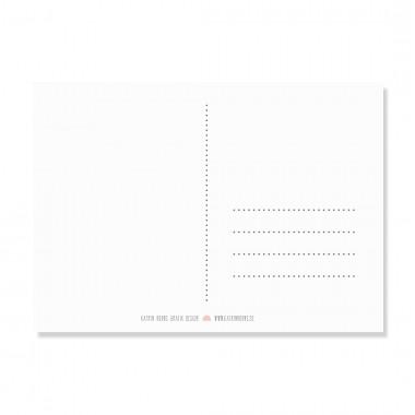 "Edith schmuckes Papier ""Heiss, heisser, am heissesten"" Postkarte"