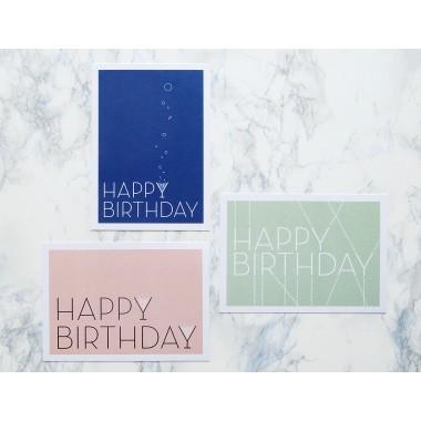 """3 Geburtstagskarten """"SparkleMail"""""""