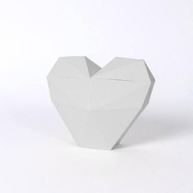 PaperShape Origami Herz zum Zusammenstecken