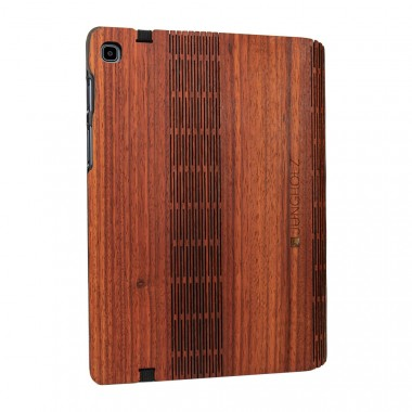 JUNGHOLZ Design WoodCase, Tablet, Padouk, Samsung Galaxy Tab S5e