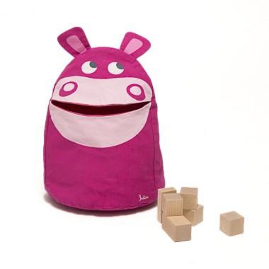 Spielzeugtasche Nilpferd