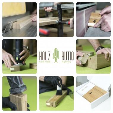 Schneidebrett 4er Set klein | Eiche Küchenbrett | Holzbutiq
