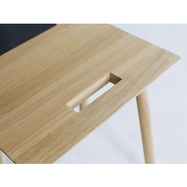 KNOQDI Holzschemel aus Eiche Natur