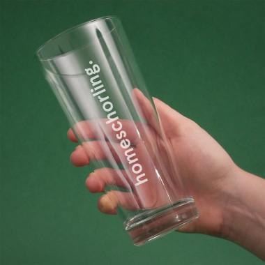 """""""homeschorling"""" Schorle-Glas (2er-Set) – Vorbestellung"""
