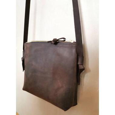 Kleine Crossbody Tasche // kastanienbraune Tasche // Festival Bag // Leder Umhängetasche // chestnut Ledertasche