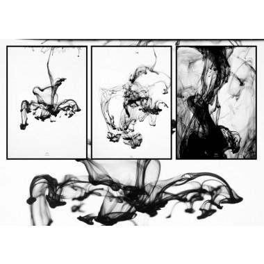 """nahili POSTER / ARTPRINT """"SMOOTH movement"""" (DIN A1/A3 & 50x70)"""