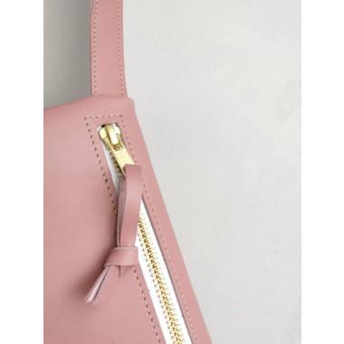 Rosane Leder Gürteltasche // Hüfttasche Altrosa // Hip bag leather // Fanny Pack // Crossbody // Festival Bag // Boom bag // pink bag