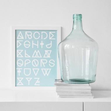 "nahili A3 ARTPRINT / POSTER ""geometrical ABC"" abstrakte Grafik Kunst - Druck"