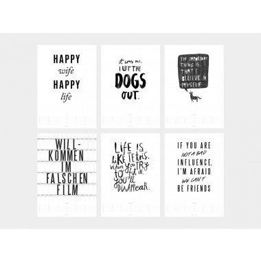 typealive / Wandkalender / Life Quotes 2020