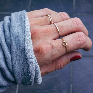 iloveblossom KNOTS OF LOVE *fine gold*