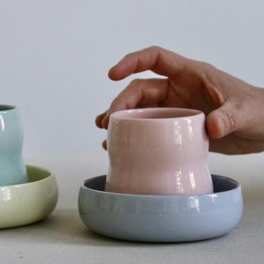 ZAUNKÖNIG • handgefertigter Becher aus Porzellan