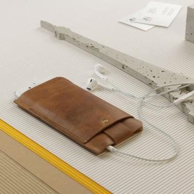 iPhone 5/5S Slim Fit Hülle aus Vintage Leder [vintage]