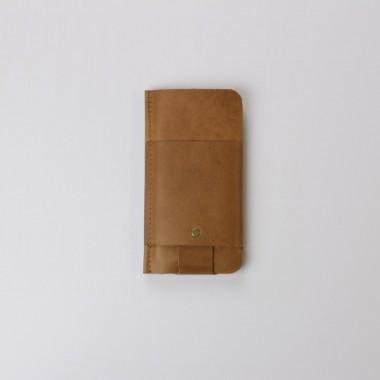 Slim Fit Hülle für iPhone 6 Plus aus Vintage Leder