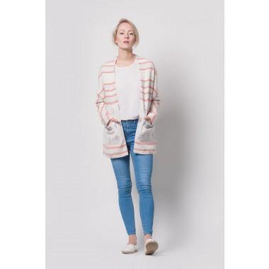 Johanna Junker // Kimono nude – rosé (onesize)
