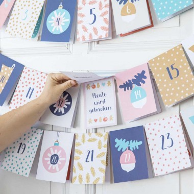 Baby Adventskalender - 24 Überraschungen für Dich und Dein Baby