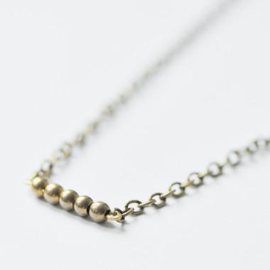 "OHRRINGE ""golden dots"" bronze Ohrschmuck (Brisuren oder Haken)"