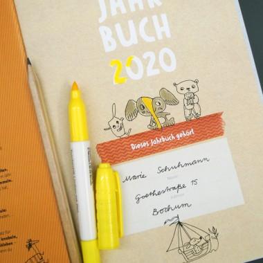 Kinderjahrbuch, Kalender-Jahrbuch für Kinder, Ausgabe 2020