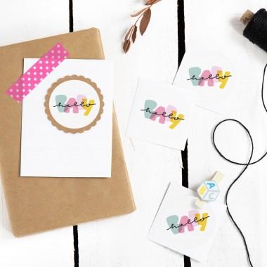 Kleine Papeterie // Hello Baby // Sticker