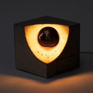 Klotz Betonlampe 'Sonnenklotz'