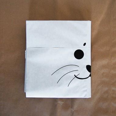 kolor Papiersack Robbe (Seal)